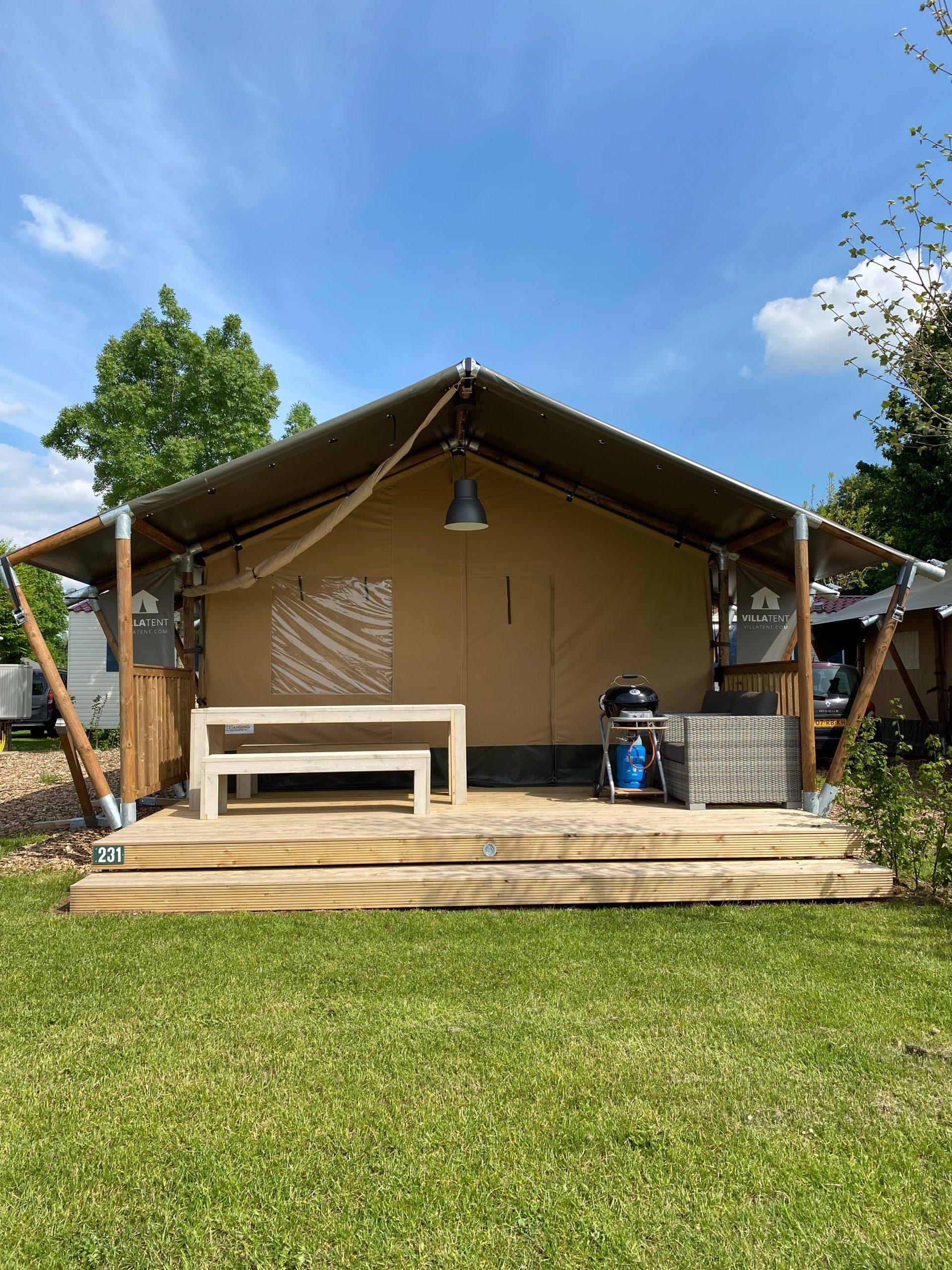 Villatent camping 't Geuldal in Meerssen